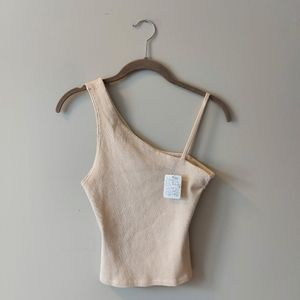 New Free People Crop Ribb Tank